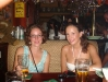Katie and Annikken at Finnegan\'s