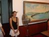 Annikken in the president\'s office