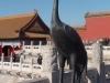 Forbidden City - protective heron
