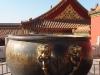 Forbidden City - copper fire fighting vat
