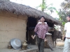Tharu fisherman and son